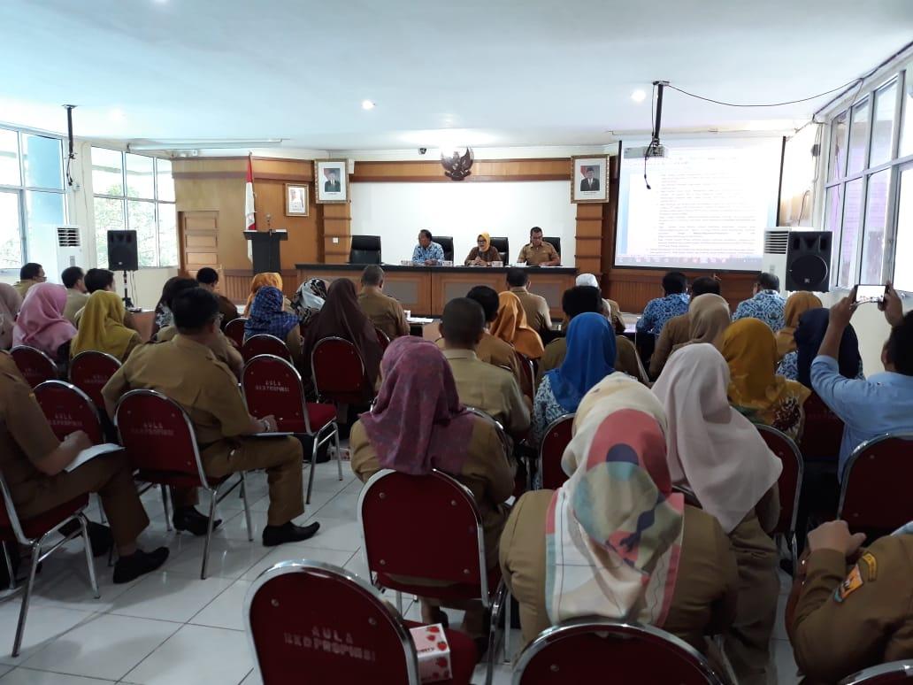 BKD Gelar Rakor Persiapan Pengadaan CPNS 2018 Dengan BKPSDM se-Sumatera Barat